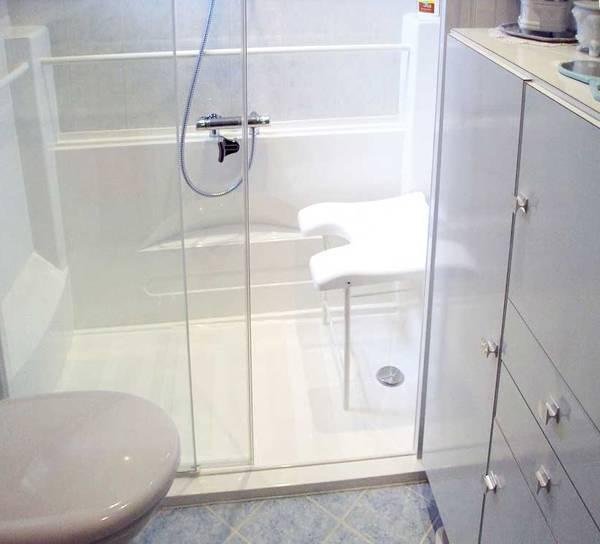 douche personnes agées